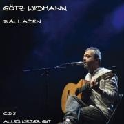 """CD Götz Widmann """"Balladen CD 2: Alles wieder gut"""""""
