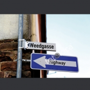 """Abzug Fotografie """"Weedgasse Highway"""""""