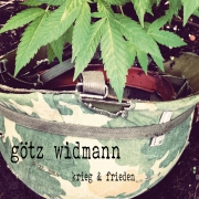 "MP3-Download Album Götz Widmann ""Krieg & Frieden"""