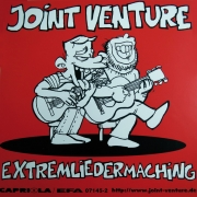 "Sticker Joint Venture ""Extremliedermaching"" Original von 1999"