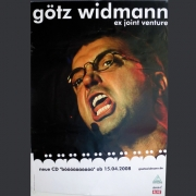 """Tourplakat Götz Widmann """"böäöäöäöäöä"""" 2008/09"""