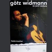 Tourplakat Götz Widmann 2007/08