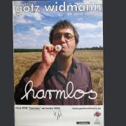 """Tourplakat Götz Widmann """"harmlos"""" 2005/06"""
