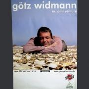 """Tourplakat Götz Widmann """"Zeit"""" 2004/05"""