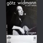"""Tourplakat Götz Widmann """"Drogen"""" 2003/04"""