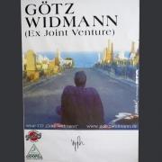 Tourplakat Götz Widmann 1. Solotour 2001/02