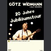 """Tourplakat Götz Widmann """"20 Jahre Jubiläumstour"""" 2013/14"""
