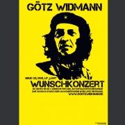 """Tourplakat Götz Widmann """"Wunschkonzert"""" 2012/13"""
