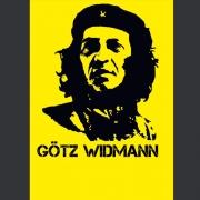 "Tourplakat Götz Widmann ""GoetzGuevara"" 2012, DIN A1, Plakatrolle"