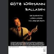 """Tourplakat Götz Widmann """"Balladen"""" 2010/11"""