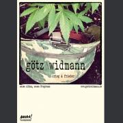 """Tourplakat Götz Widmann """"Krieg & Frieden 2"""" 2014/15"""
