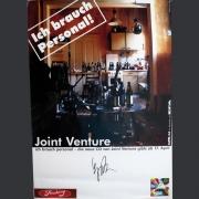 """Tourplakat Joint Venture """"Ich brauch Personal"""" 1998/99"""