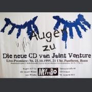 """Tourplakat Joint Venture """"Augen zu"""" 1995, DIN A1, Standard"""