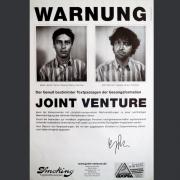 "Tourplakat Joint Venture ""Warnung"" 1994"