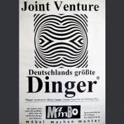 "Tourplakat Joint Venture ""Deutschlands grösste Dinger"" 1993"