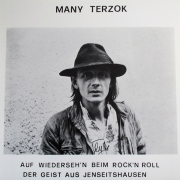 "Vinyl-Single Mani Terzok ""Auf Wiederseh'n beim Rock'n'Roll"" 1980"