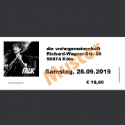 Ticket Konzert FALK Sa., 28.09.2019 Die Wohngemeinschaft, Köln