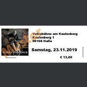 Ticket Konzert MARKUS SOMMER Sa., 23.11.2019, Volksbühne am Kaulenberg, Halle (Saale)