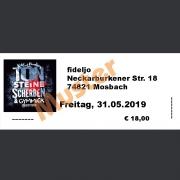 Ticket Konzert Kai & Funky von TON STEINE SCHERBEN mit Gymmick: Fr., 31.05.2019 fideljo, Mosbach