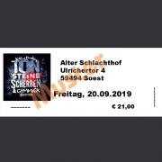 Ticket Konzert Kai & Funky von TON STEINE SCHERBEN mit Gymmick: Fr., 16.08.2019 Kommunikationshof, Wargolshausen