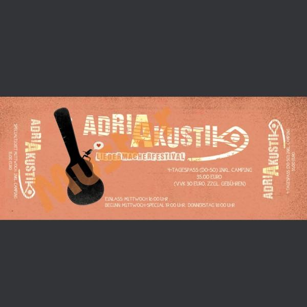 adriAkustik 4-Tages-Ticket